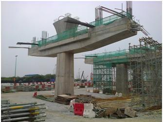 Construction Work of Pile Cap for Viaduct Sub Labor at Sungai Buloh V1