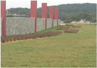 Landscaping, Wall, and Signage at ELMINA Sime Darby Shah Alam